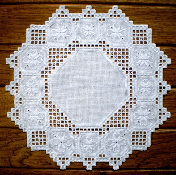 Gorgeous Hardanger Centerpiece by MnMom23 on Etsy, $69.75