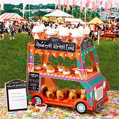 Gourmet Street Food Van Stand | Asda Party