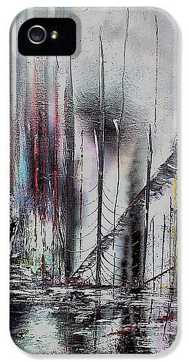 Gloomy Sunday IPhone 5 / 5s Case Printed with Fine Art spray painting image Gloomy Sunday by Nandor Molnar (When you visit the Shop, change the orientation, background color and image size as you wish)