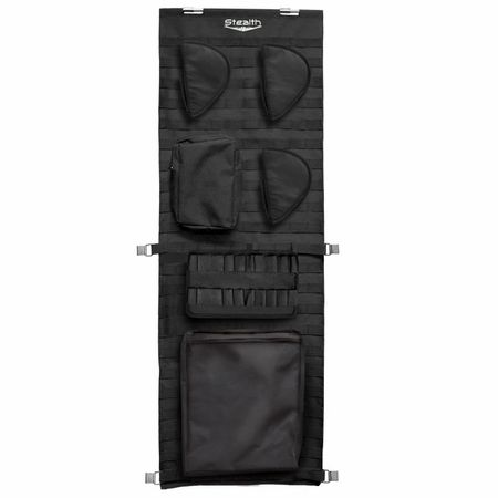 Stealth Tactical Molle Gun Safe Door Panel Organizer Small - completely customize  your safe.