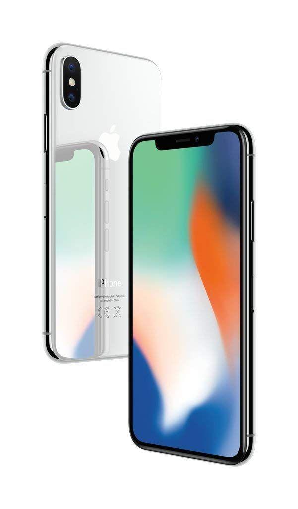 Apple Iphone X 64 Go Argent Apple Iphone Iphones Iphone Celulares