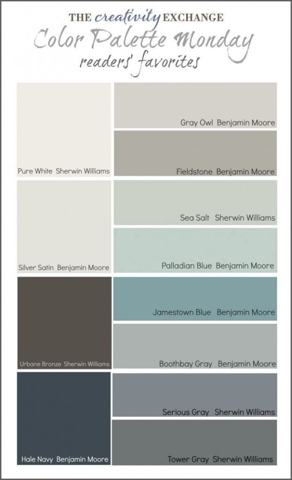 Paint Colors....love this palette