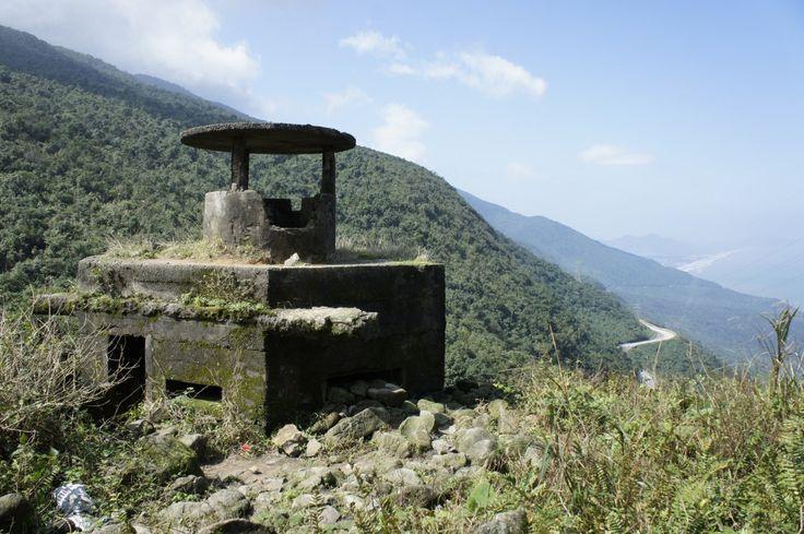 A bunker near Hai Van Pass |A motorcycle adventure in Vietnam