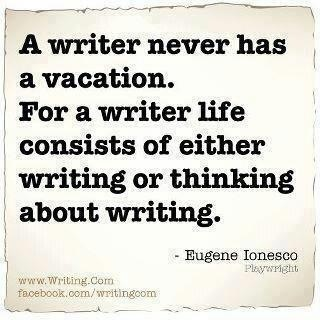 """I'm not sure I'm a """"writer"""" just yet but this is very applicable since I often write about my vacation adventures."""