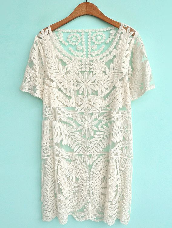 Loving this Lace Dress.