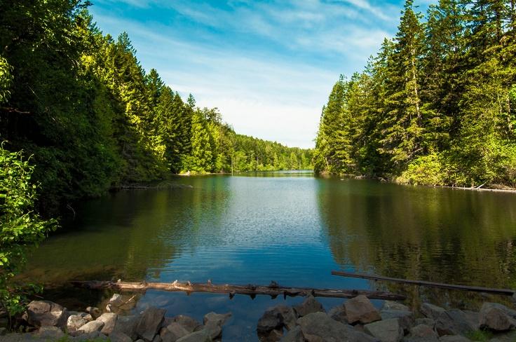 Durrance Lake, Vancouver Island (summer)