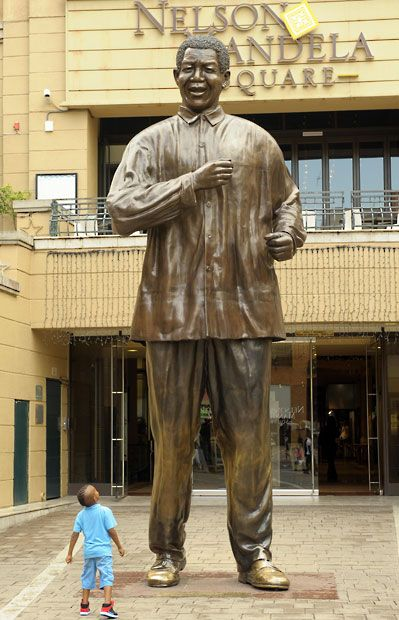 Nelson Mandela Square in Johannesburg, Gauteng, South Africa