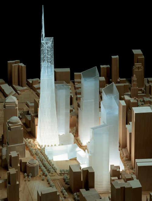 Ground Zero Master Plan - Daniel Libeskind