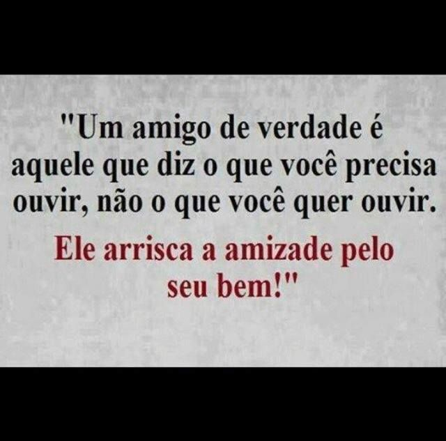 Post  #FALASÉRIO!  : Afinal, verdadeiros amigos sempre nos ajudaram a t...