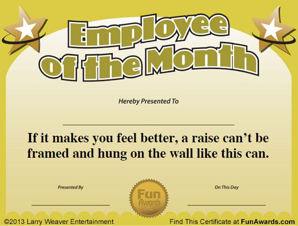 employee of the month awards employee awardsrecognition ideasemployee recognitionincentive