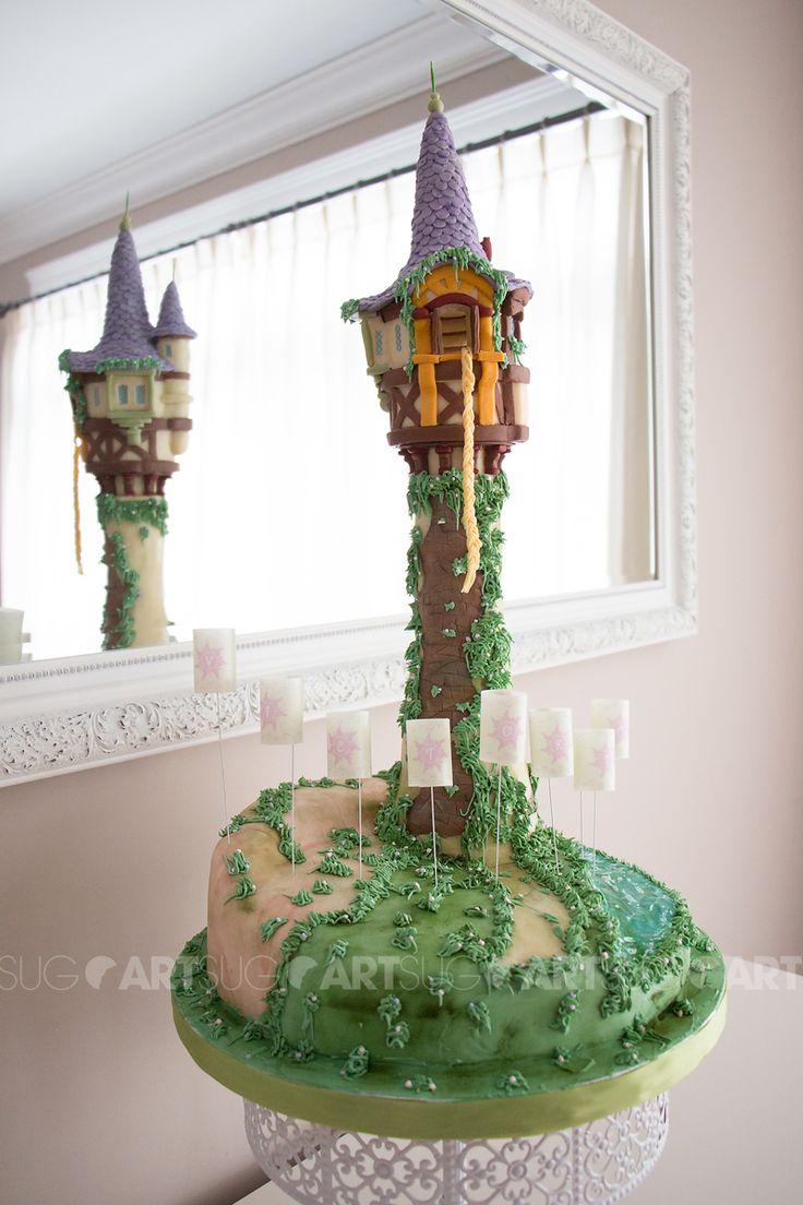 la tour de raiponce en biscuits et g teau rapunzel tower