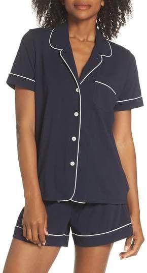 J.Crew J. CREW Short Sleeve Knit Pajamas  29d41a5f4