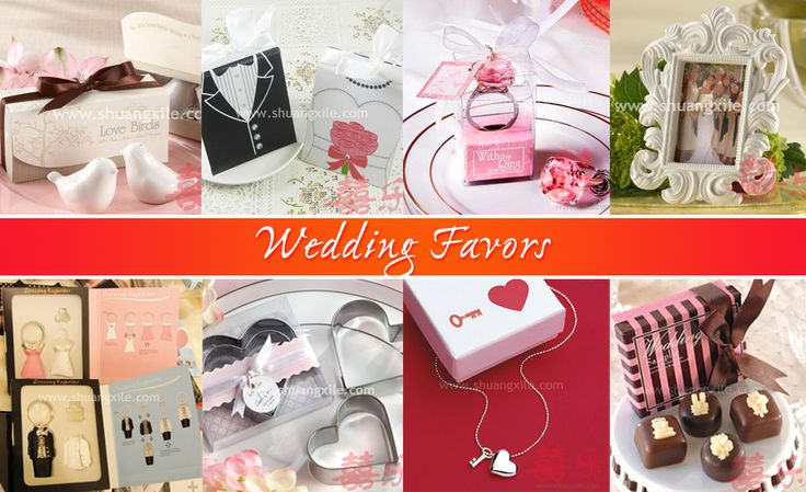 Wedding Favours by Shuang Xi Le