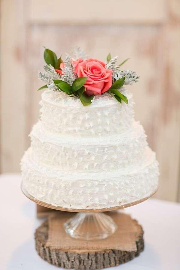 Torte nuziali bianche - Torta bianca fresca
