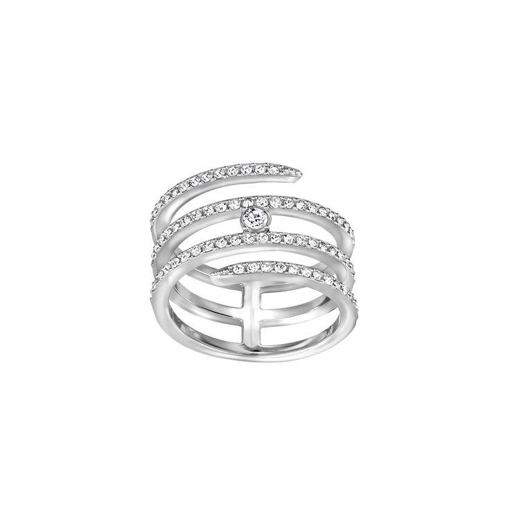 "Swarovski ""CREATIVITY"" Ring #Ring #Crystals #SpringSummer2016 #JewelleryDesigner #Swarovski #Jewelry"