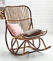 Fancy SIT Schaukelstuhl Vintage kaufen Kauf auf Raten Handgefertigt aus ungesch lten Rattan