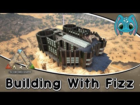 ARK: Scorched Earth Building w/ Fizz :: Metal Castle Observatory