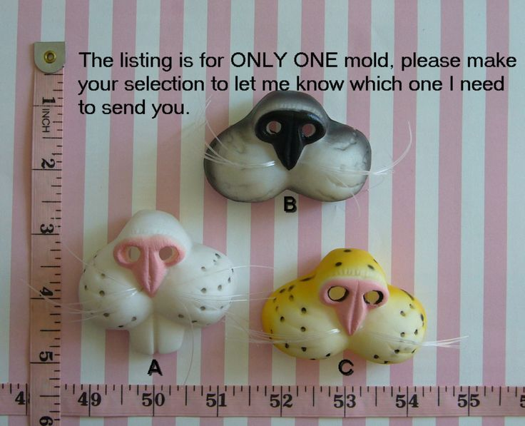 3D Animal Nose & Cheeks Cat Rabbit Cheetah Silicone Mold Cupcake Topper Cake Topper Cake Tool Fondant Chocolate Candy Sugar craft Resin Clay by MoldCreationsNmore on Etsy