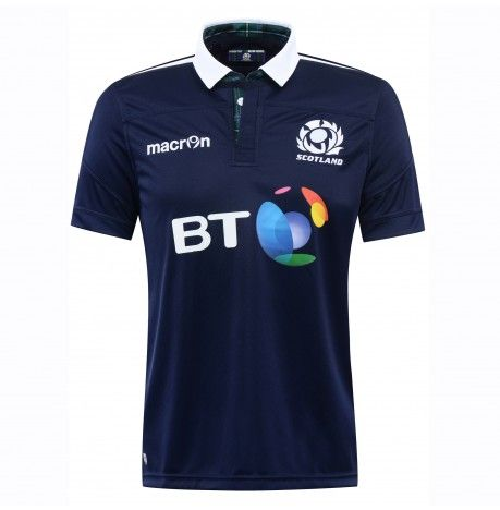 SCOTLAND RUGBY M16 HOME REPLICA SHIRT SS SR