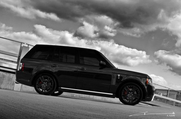 2011 Project Kahn Range Rover Black Vogue - Yes thank you!