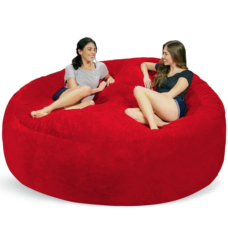 Literally, just chill. It's more fun when you can share your big bean bag when watching the big game. Comfort and style, just give it a try. Check it out==> http://gwyl.io/8-feet-bean-bag-chair/