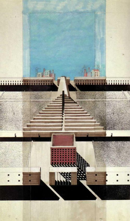 Works by architect Aldo Rossi.