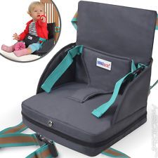 Portable Travel Booster Seat Baby Toddler Kids Feeding High Chair Child Safety