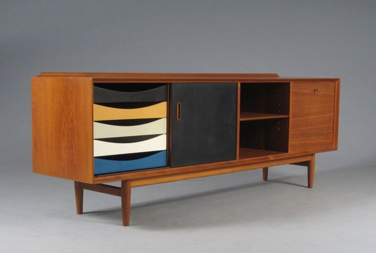 Arne vodder sideboard 1965 buildings pinterest teak for Sideboard 80 x 40
