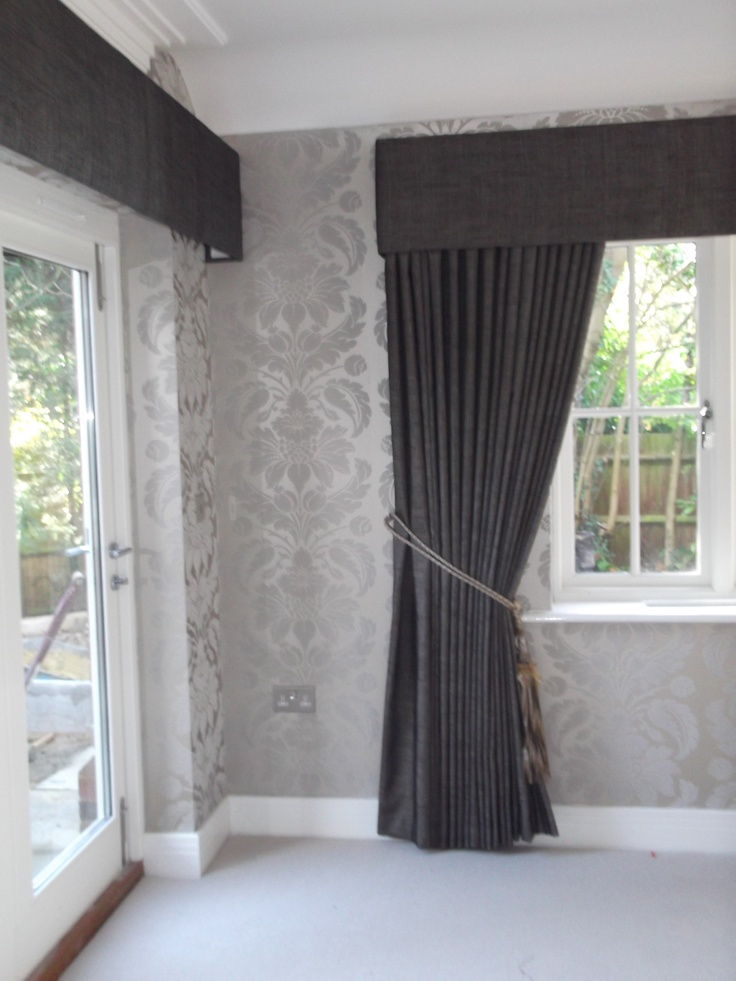 Full Length Curtains With Pelmet