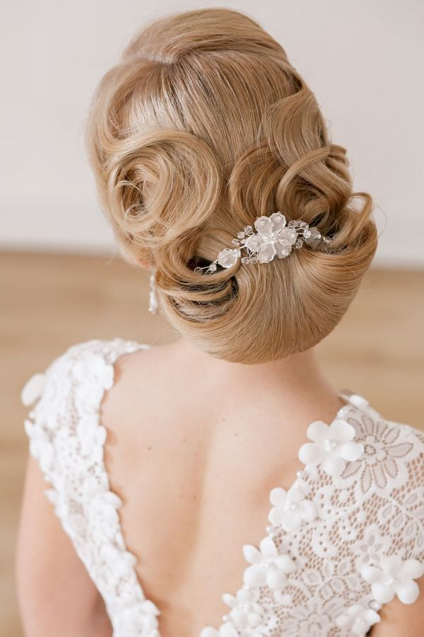 Long Wedding Hairstyles and Bridal Updo Hairstyles for Long Hair from elstile-spb 12