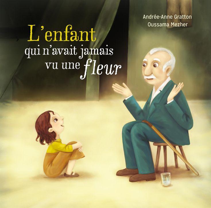 Critique de livre jeunesse : L'enfant qui n'avait jamais vu une fleur - Campagne pour la lecture