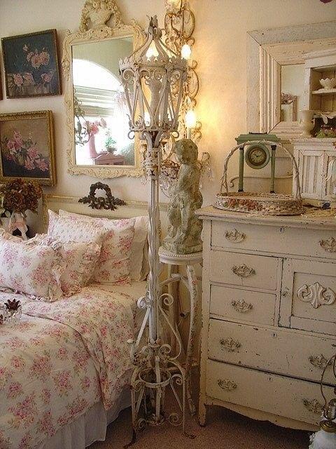 Best 25 shabby chic lamps ideas on pinterest shabby - Dormitorios shabby chic ...