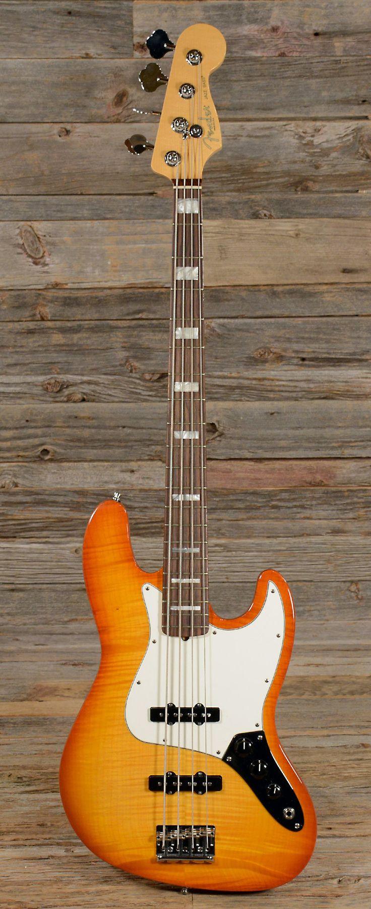 FENDER American Select Jazz Bass Passive | Chicago Music Exchange