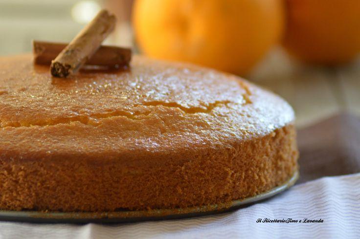 Torta arancia e cannella