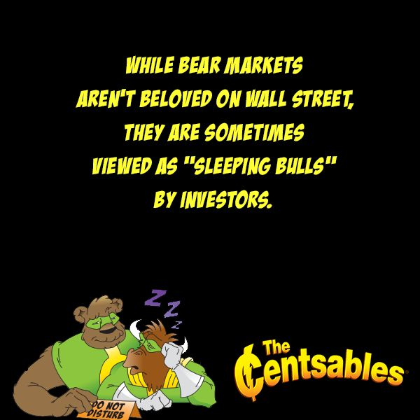 "While bear markets aren't beloved on Wall Street, they are sometimes viewed as ""sleeping bulls"" by investors. The ideal way to make money in the stock market is to buy low and sell high. Bear markets, with their low stock prices, can offer many opportunities, especially if investors buy right before prices start to rise again. The trick is knowing the right time to buy and to sell. #FinancialLiteracy #StockMarkets #BearMarket #BullMarket #Investing #stockmarket"