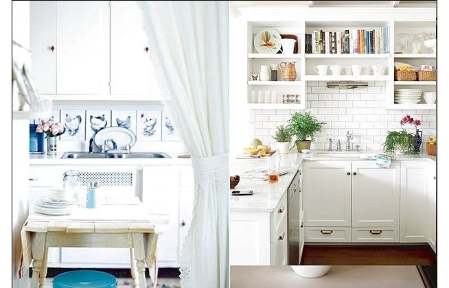 Fascinating Pretty White Design Kitchen