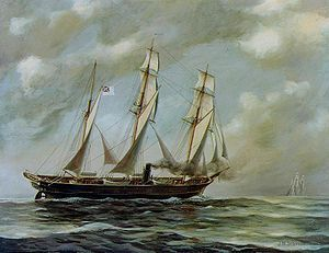 Retro Brit: Confederate Commerce raider - (Captain Semmes of the CSS Alabama.)