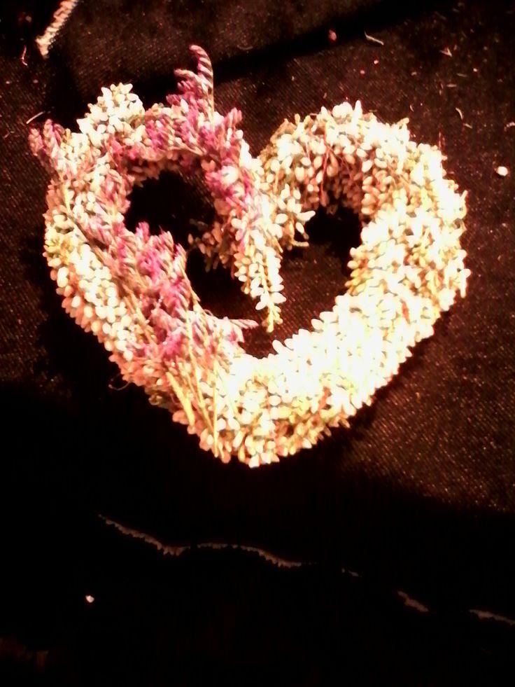 hjerte blomster