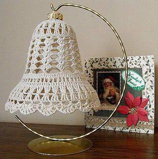 Decoupage U Edyty ...: Ozdoby świąteczne na szydełku.