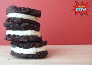 Protein Oreos - A High-Protein, Low-Carb, and Low-Calorie Healthy Oreo Cookie Recipe, WHAT!? › Protein Pow