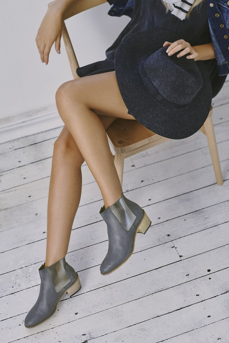 JONAR ANKLE BOOT | Available in grey & black