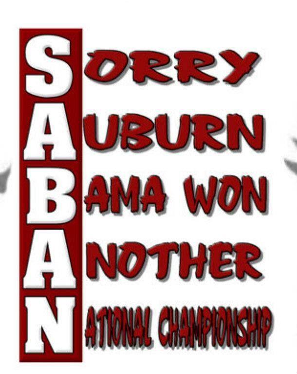 Alabama Football the best!