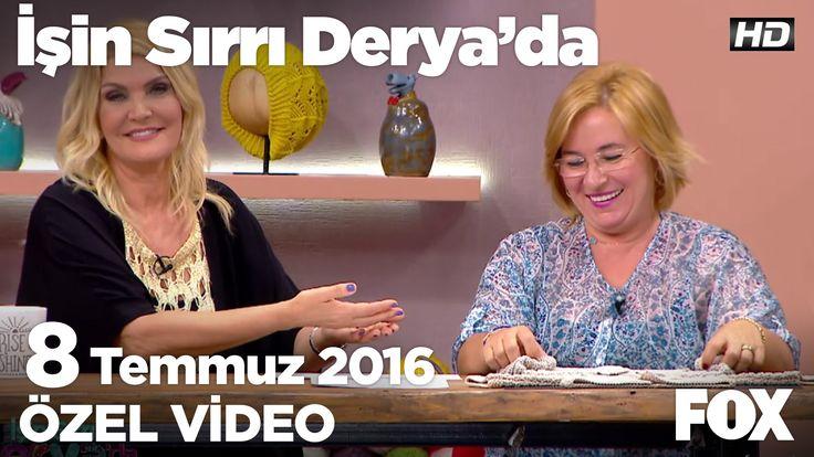 Nurgün Tezcan'dan bebek hırkası örneği...İşin Sırrı Derya'da 8 Temmuz 2016