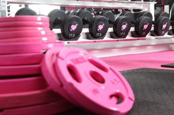 PinK- my next home will have a workout room & I will have these weights !