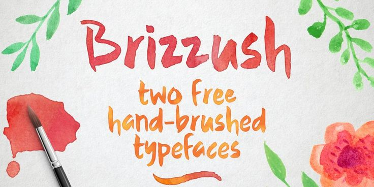 Brizzush Typeface