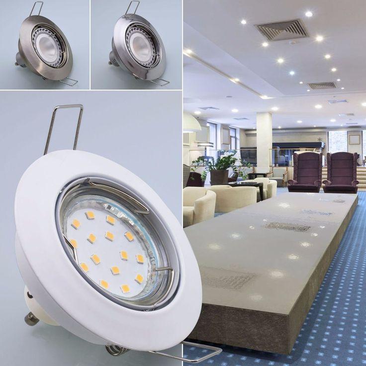 Einbaustrahler Einbauleuchte LED Spot Einbauspot Halogen Strahler Lampe 104 in Heimwerker, Lampen & Licht, Einbauleuchten | eBay!
