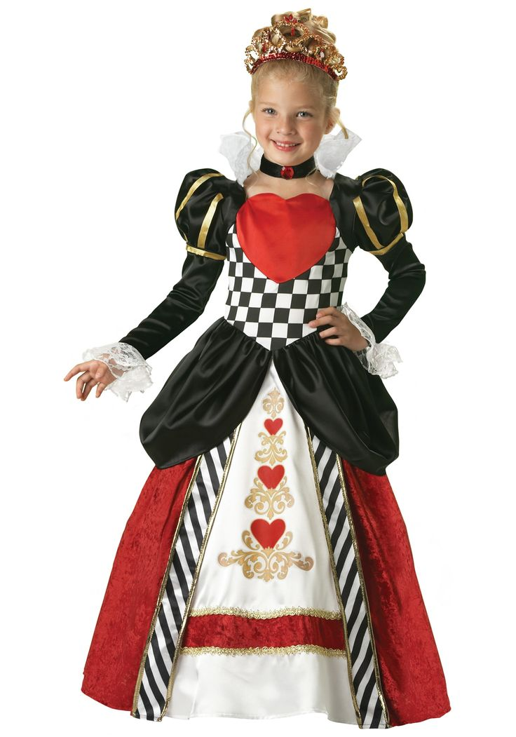 Pictures of Queen of Hearts | ... Costume Ideas Alice in Wonderland Kids Elite Queen of Hearts Costume