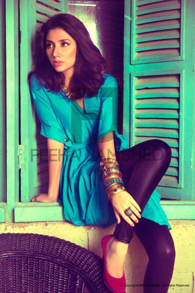 Mahira Khan, Pakistani model & TV actress, gorgeous (photoshoot for Feeha Jamshed)