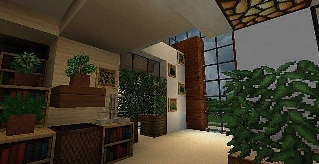 Modern house with style minecraft build 6