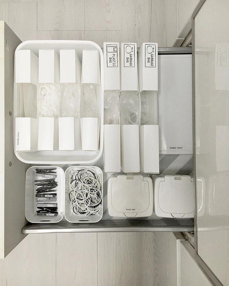 さらばポリ袋のゴチャつき!セリア「キッチン消耗品収納ケース」で整頓上手♩ - macaroni